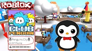 CLUB PENGUIN BUYS MEEPCITY!! CLUB PENGUIN NOW IN ROBLOX // SULIIN18YT Róblox