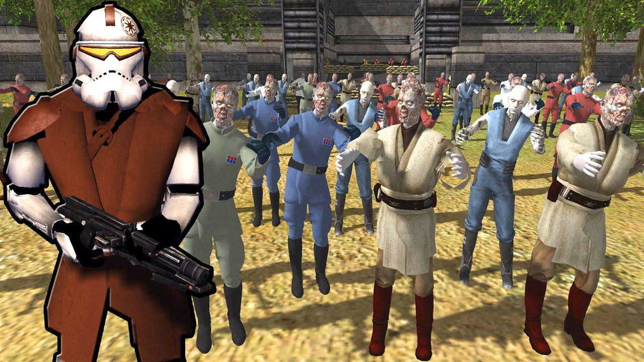 Download Clones Siege the ZOMBIE FORTRESS! - Star Wars: Rico's Brigade S4E21