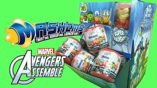 Marvel AVENGERS Mashems Series 2 Metallic