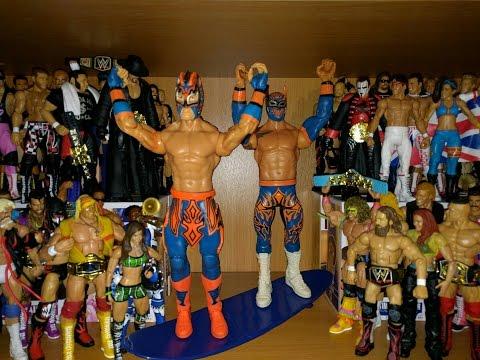 Lucha Dragons (Sin Cara & Kalisto) Battle Pack 42 - WWE Mattel Figure Review & Unboxing