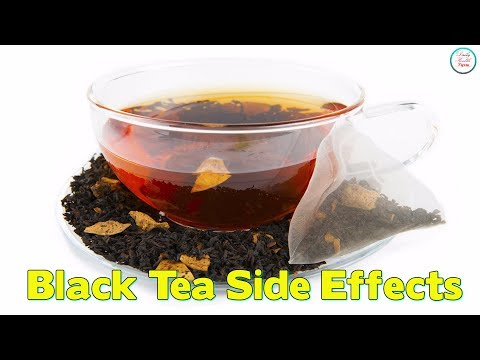 Black Tea Side Effects You Should Be Aware Of