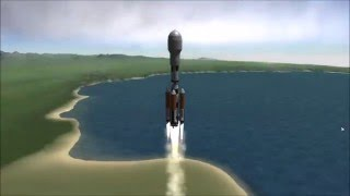 KSP 1.1 Single launch to Eve and Back (over 3k science) HD uncut