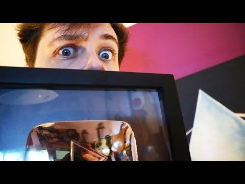 MY SCARY FACE! - Silver Play Button! Thank You & My Setup!
