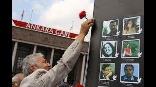 10 Ekim Ankara Katliamı'nda yaşamını yitirenler Kadıköy'de anılıyor