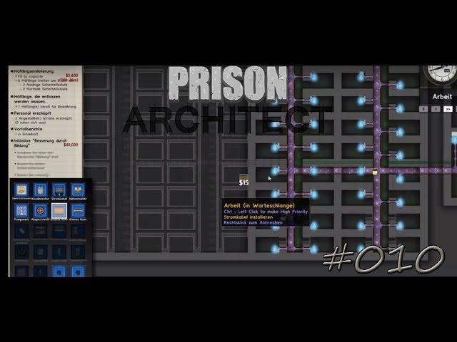 Let's Play Prison Architect | Vergrößerung | Folge #010