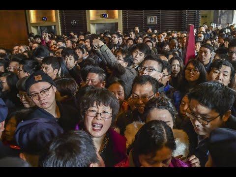 Самые шокирующих фото о том, НАСКОЛЬКО много людей в Китае. Shocking photos of China