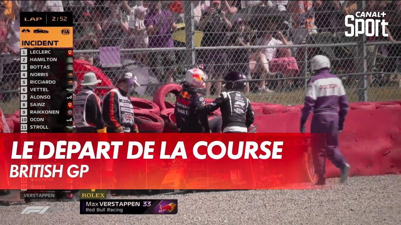 L'incroyable départ du British GP - CANAL+ Sport