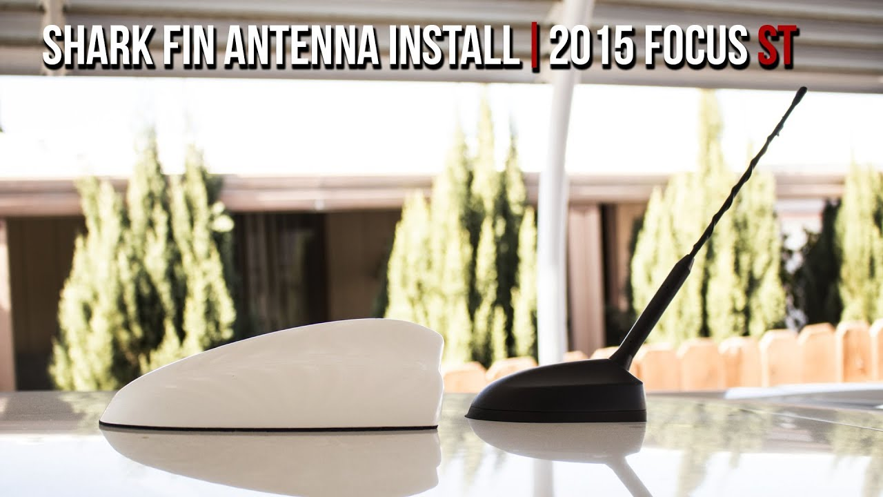 How To Install A Shark Fin Antenna 2015 Focus St Youtube 2012 Ford