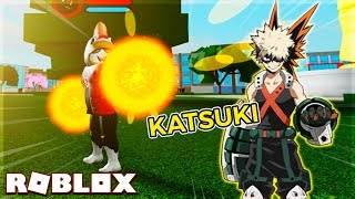 CHICKEN OWNS THE QUIRK EXPLOSION OF KATSUKI IN BOKU NO ROBLOX REMASTERed (Roblox)