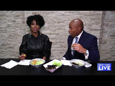 Eating Vegan with Brooklyn Borough President Eric Adams