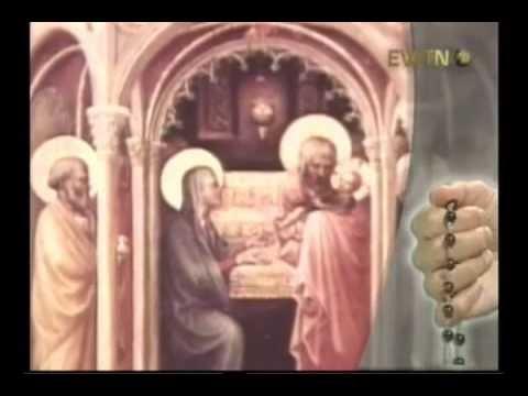 Santo Rosario   1  Misterios Gozosos Lunes y Sábados)(360p H 264 AAC)