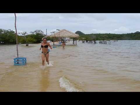 Praia de Alter-do-chão Santarém-Pa.