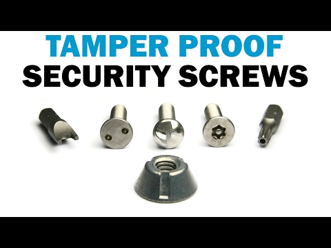 how to take off anti theft number plate screws