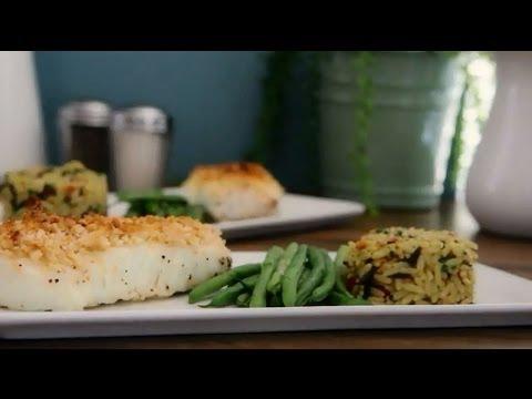 How To Make Almond Crusted Halibut | Fish Recipes | Allrecipes.com