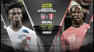 Peru Vs Estados Unidos En Vivo 2018