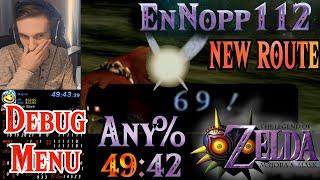 FIRST EVER SUB 50 minutes Any% Speedrun (49:42) - Zelda: Majora's Mask Speedrunning