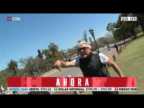 Robertito Funes Ugarte fue agredido mientras hacia un móvil de C5N