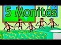 Download La Canción de Los 5 Monitos Con Barney El Camión y Panchito - s para Niños MP3 song and Music Video
