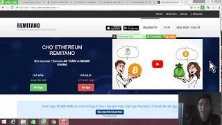 Hướng dẫn mua Ethereum trên sàn giao dịch Remitano