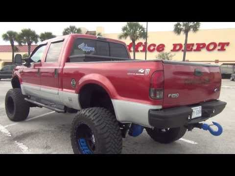 Nice Lifted UP Ford F250 Diesel