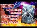 GX-9900 Gundam X MG 1/100 Unboxing en Español の動画、YouTube動画。