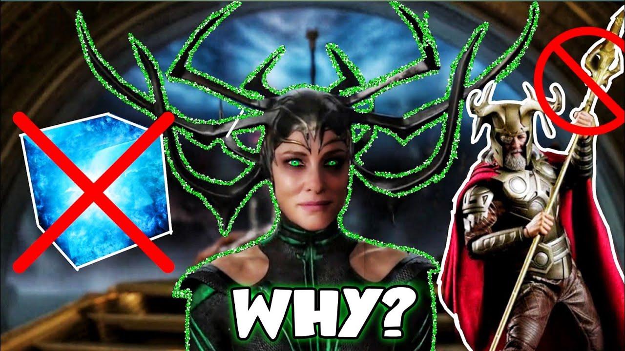 why Hela didn't use Spear Gungnir to summon Bifrost? in Hindi (SUPERBATTLE)
