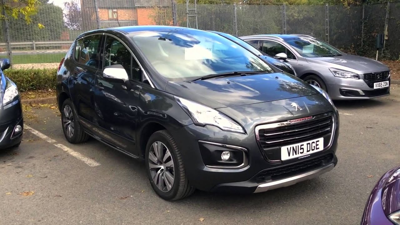 2015 peugeot 3008 crossover 1 2 puretech 130 active s s vn15 dge at st peter 39 s peugeot worcester. Black Bedroom Furniture Sets. Home Design Ideas