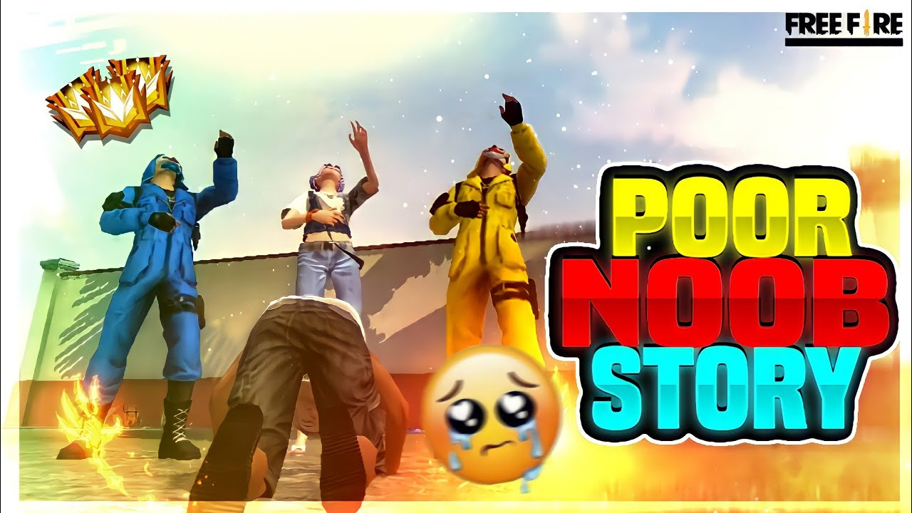POOR NOOB STORY || free fire short film in tamil || free fire noob story || K2B