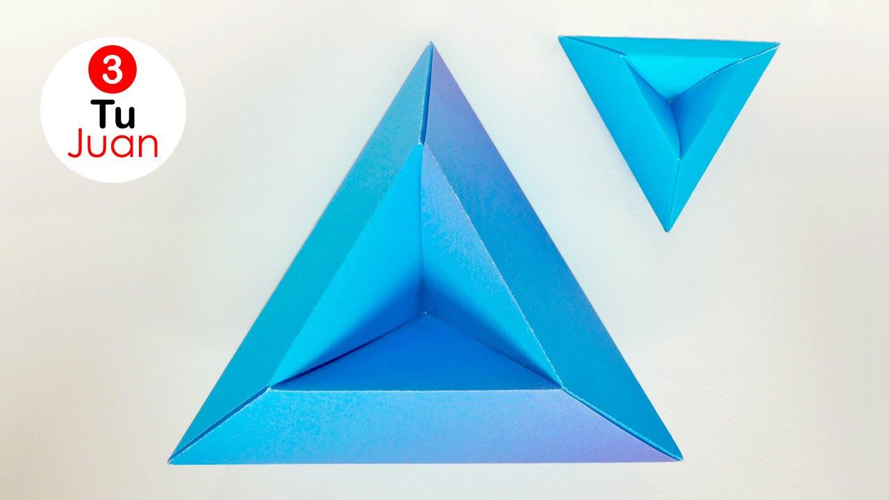Papercraft Origami Modular Tricorne | Manualidades - DIY