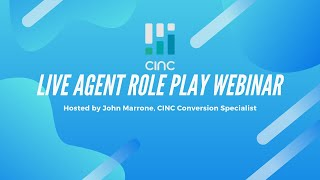CINC Live Webinar: Scripting and the Subconscious Mind | July 13, 2020