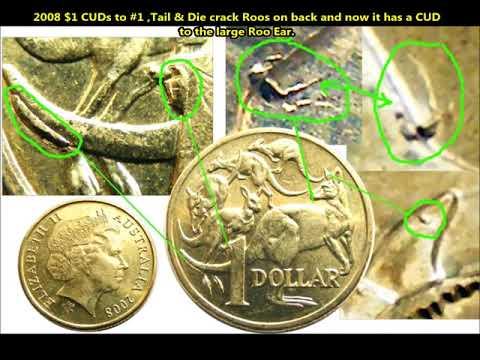 Howards' Coin Photos Of Australian $1 & $2 Error & Variety Vol #1.4