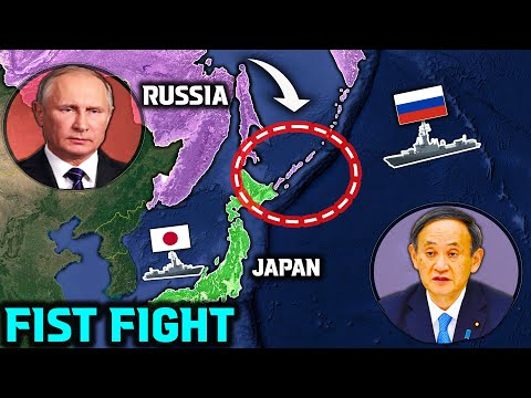 Japan is Angry at Russia due to Kuril Islands Issue