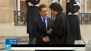 فرنسا: هل تلقى ساركوزي أموالا من القذافي إبان انتخابات 2007؟