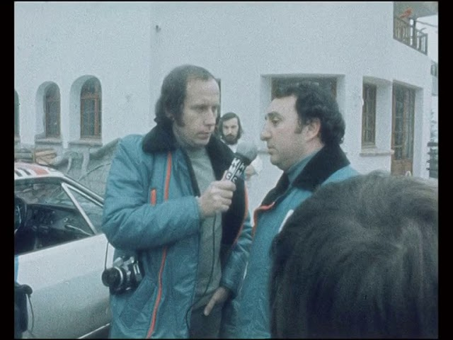 Rally di Montecarlo 1975 vinto da Munari/Mannucci su Lancia Stratos video di Piter Sinner parte 1