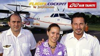 Cockpit AIR TAHITI ATR-42 & ATR-72 (2001)