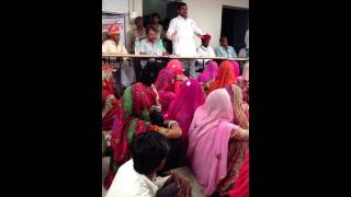 Ramlal Jat- MLA- Bhilwara addressing people - KIDIMAL