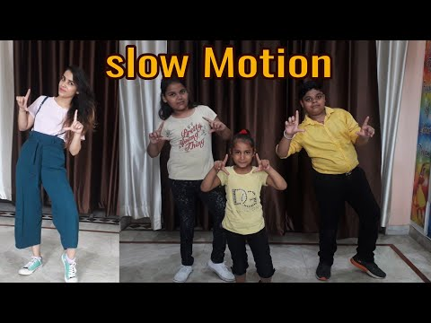 Slow Motion | Kids Dance| Easy choreography| Bharti Lalwani choreography| - Duration: 1:12.