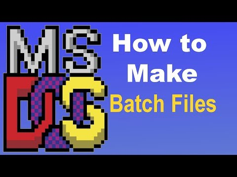 Batch File Programming: How To Make A Batch File
