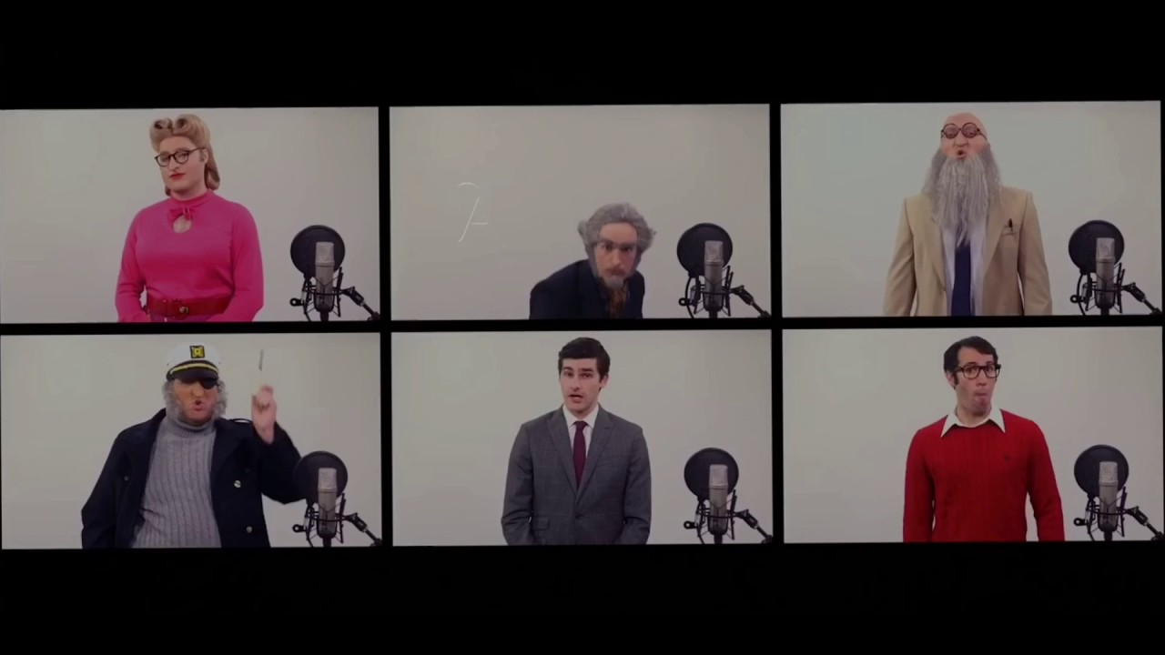 A Series of Unfortunate Events and Warp Zone Acapella Mashup