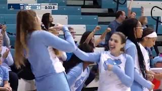 UNC Women's Basketball: Highlights from Sylvia Hatchell's ACC Record Breaking Win Over UNCG