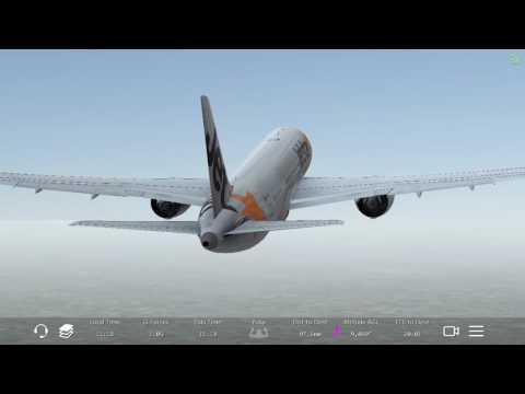 Infinite Flight Jetstar 787-8 EGLL~EGBB