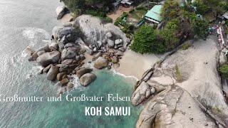 Grandmother & Grandfather Stone Koh Samui
