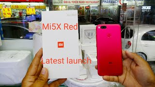 Hindi | Xioami Mi 5X Red (Latest launch) Available In Dubai Awais Star Shop