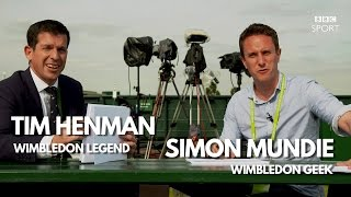 Wimbledon 2016: Tim Henman and Simon Mundie's Geek-Off - BBC Sport