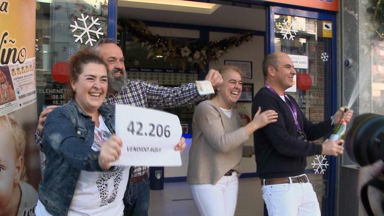 Administración de Llodio reparte 34 millones de un cuarto premio
