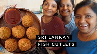 Making Sri Lankan Fish Cutlets with Nivii06 during Quarantine | Theepa's Cooking Lifestyle