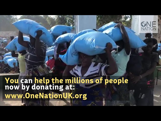 Largest Distribution Ever Made by One Nation in Malawi! (December 2017)