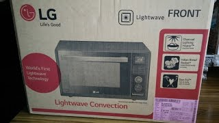 LG Charcoal Lightwave Oven | LG Microwave MJ3283BCG | LG Microwave Review by Happy Pumpkins