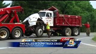 Police identify couple killed in Warren County dump truck, car crash