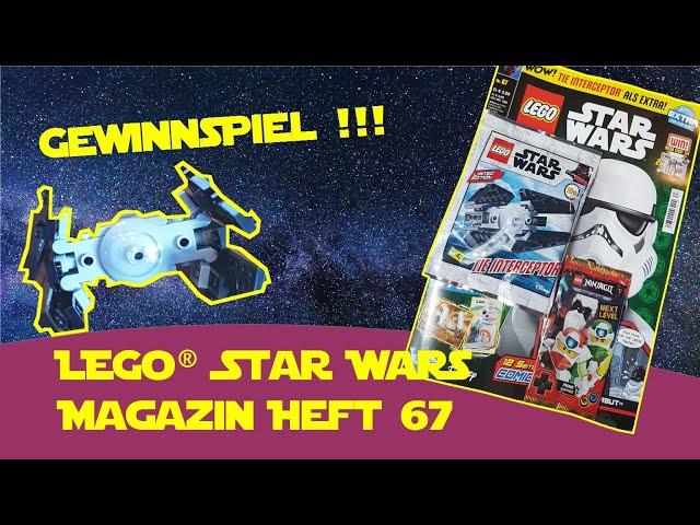 LEGO® Star Wars Magazin Nummer 67 Tie Interceptor + Gewinnspiel